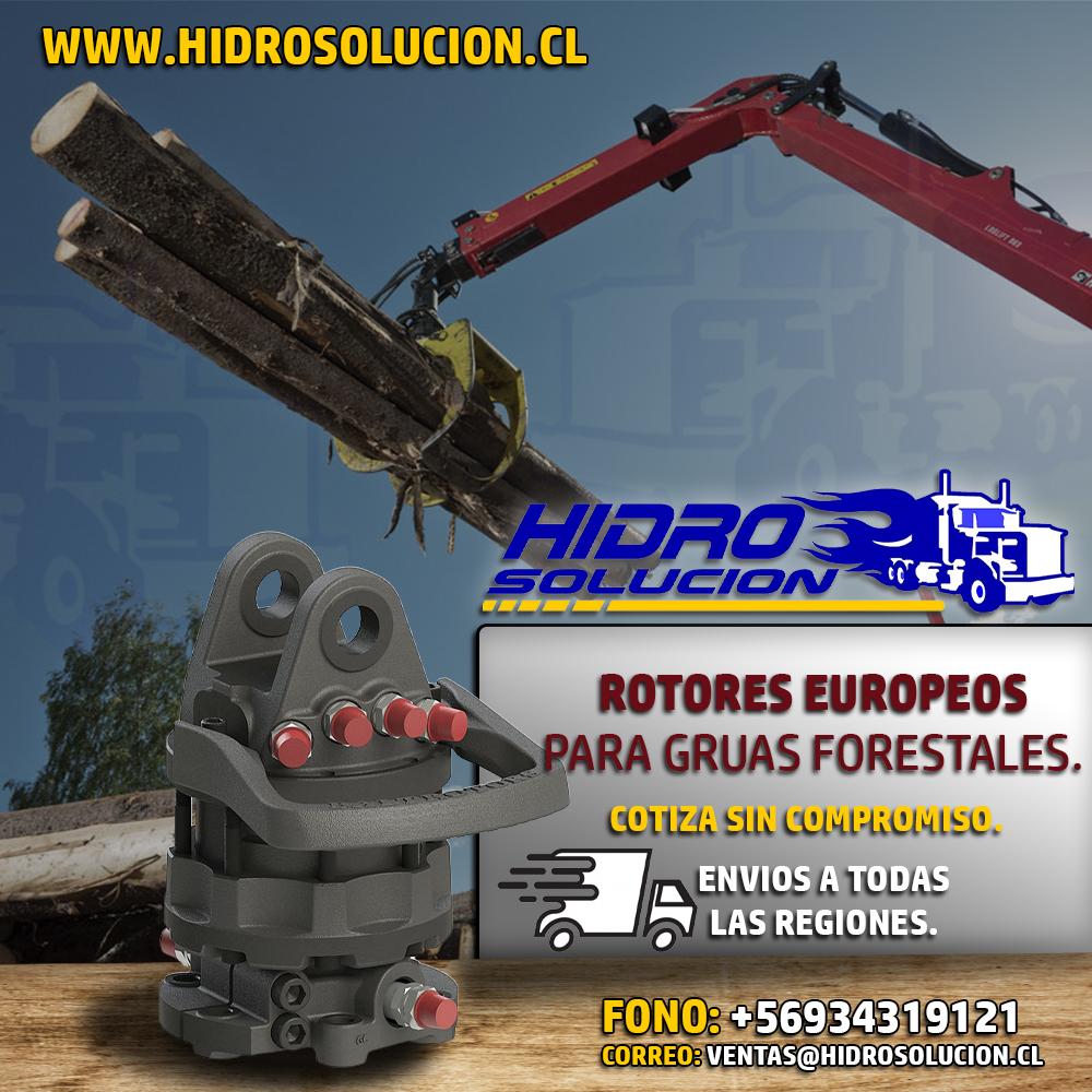 Tenemos Stock de Rotores Hidraulicos Europeos.